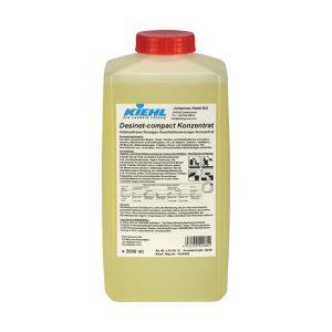 Tisztító és fertőtlenítő koncentrátum, KIEHL Desinet-compact konz. 3x2 L