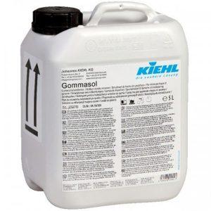 KIEHL Gommasol 5L ipari tisztítószer, nagyon erősen szennyezett ipari területeken és csarnokokban alkalmazható.