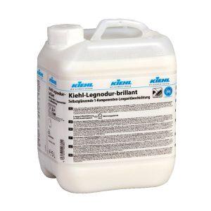 Parkettaápló, faápoló, KIEHL Legnodur brillant 5L, lakkszerűen szárad, önfényező tulajdonsága van.
