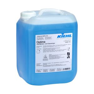 Ablaktisztító szer, műanyag- és plexiüveg tisztító, KIEHL Optima 10L