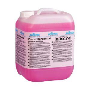 KIEHL tisztítószer koncentrátum, Procur-Konzentrat 10L. Intenzíven tisztít és speciális ápolófilmet képez, amely optimálisan polírozható.