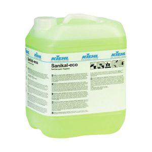KIEHL Sanikal-eco 10L Sav- és klórmentes tisztítószer, mosdó, WC, szaniter helyiségek teljes tisztítására.