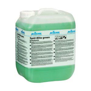 Mosogatószer, ipari zsíroldó edénymosogató szer, KIEHL Spül-blitz green 10L