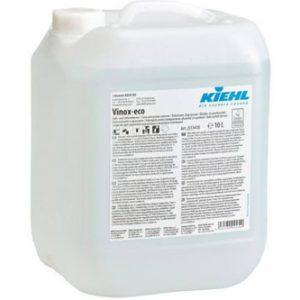 KIEHl Vinox-eco 10L, Savbázisú tisztítószer, zsíroldó, vízkőoldó, illatanyagmentes, alkalmazható nagykonyhákban, és élelmiszeripari üzemekben