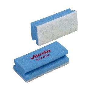 Takarítószivacs VILEDA Non-Scratch, kék