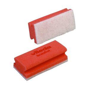 Takarító, mosogatószivacs VILEDA Non-Scratch, piros