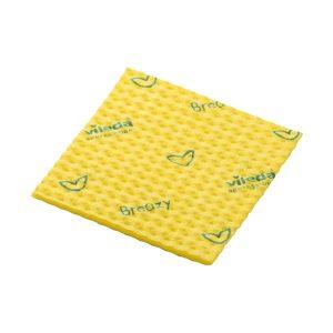 Törlőkendő, tisztítókendő VILEDA Breazy sárga