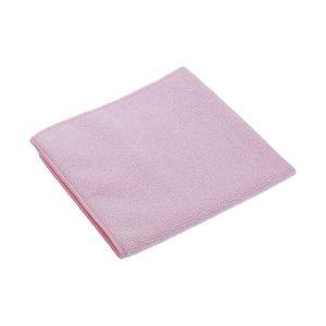 Vileda kötött mikroszálas tisztítókendő, MicroTuff swift, piros