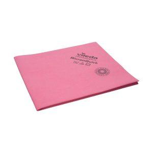 Törlőkendő, tisztítókendő Vileda MicronQuick, piros