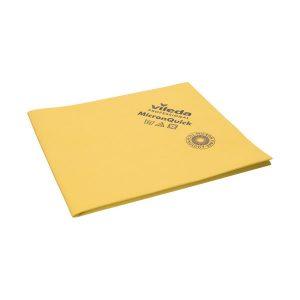 Törlőkendő, tisztítókendő Vileda MicronQuick, sárga