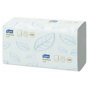 Puha hajtogatott Premium papír kéztörlő, TORK