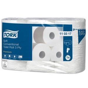 Kistekercses extrapuha toalettpapír TORK