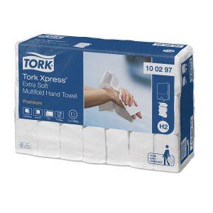Tork Xpress puha papír kéztörlő csomag hajtogatott